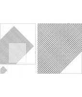 RETE PVC 185 X 290 MM (2 PZ.)