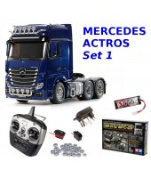 MERCEDES ACTROS 3363 PEARL BLUE SET 1