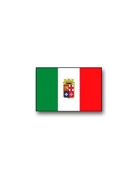 BANDIERA MARINA MILITARE ITALIANA 40X60 MM