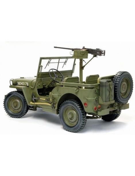 US 1/4 TON 4X4 TRUCK w/ .30 CAL. MG
