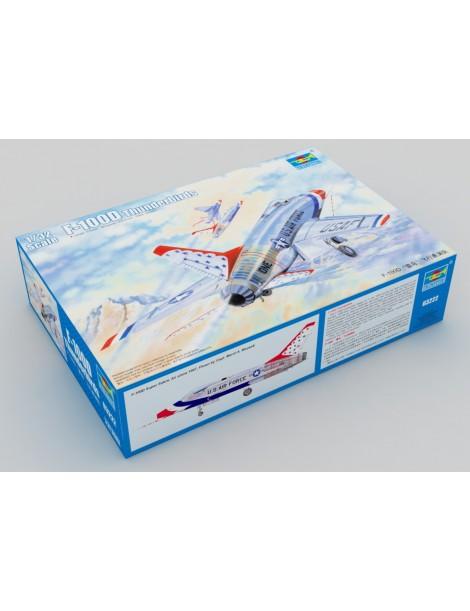 F-100 SUPER SABRE THUNDERBIRDS