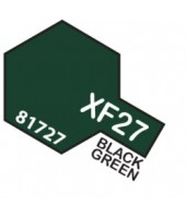 XF27 BLACK GREEN