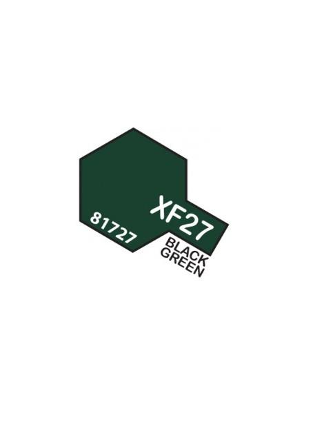XF27 BLACK GREEN