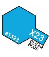 X23 CLEAR BLUE