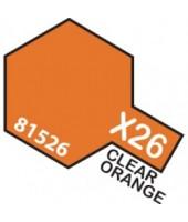 X26 CLEAR ORANGE