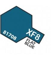 XF8 FLAT BLUE
