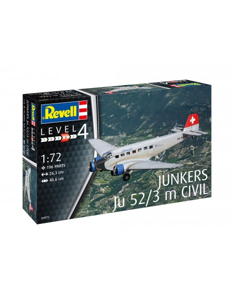 JUNKERS JU-52/3 CIVIL