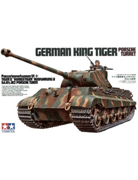 GERMAN KING TIGER PORSCHE TURRET