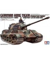 GERMAN KING TIGER PRODUCTION TURRET