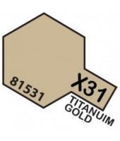 X31 TITANIUM GOLD