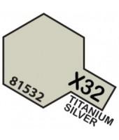 X32 TITANIUM SILVER