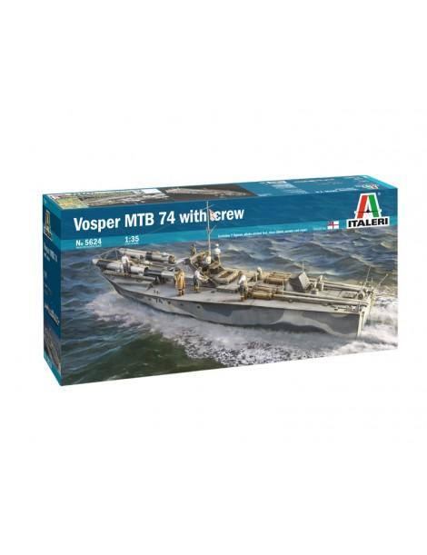VOSPER MTB 74 WITH CREW