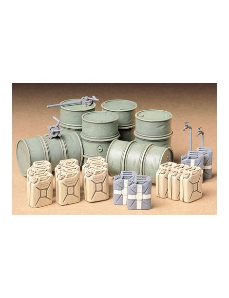 GERMAN FUEL DRUMS SET