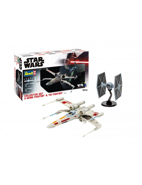 X-WING & TIE FIGHTER COLLECTOR SET
